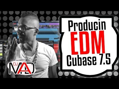 Producing EDM with big kicks on Cubase 7.5