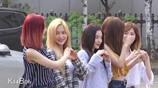 170630 Red Velvet 레드벨벳 - Music Bank 뮤뱅 출근길