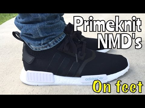 factory authentic 32197 12a1f adidas nmd double black