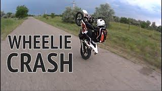 9. Wheelie, Crash and Max speed on KTM 690 Enduro R