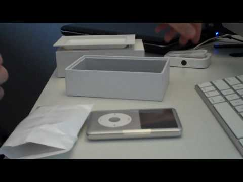 iPod Classic Silver 6th Generation