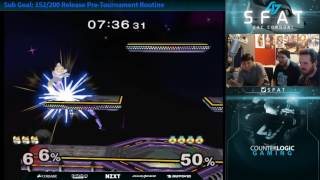 Top 10 Smash Player puts non Top 10 Smash Player in his place