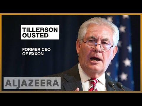 🇺🇸 Trump sacks Rex Tillerson, replaces him with Mike Pompeo | Al Jazeera English