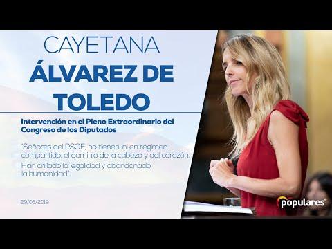"""Cayetana Álvarez de Toledo: """"El sanchismo y el salvinismo son las dos caras de la misma moneda""""."""
