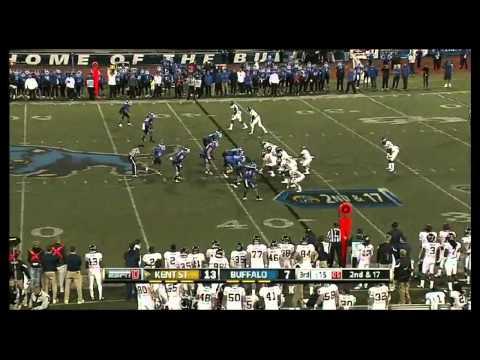 Khalil Mack vs Kent State 2012 video.