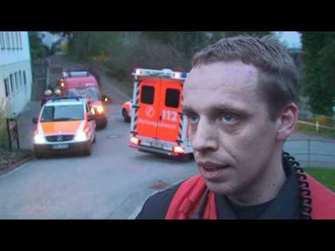 Marsberg: Klinik nach Brand evakuiert