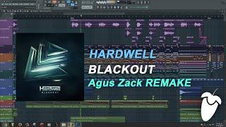 Hardwell - Blackout (Original Mix) (FL Studio Remake + FLP)