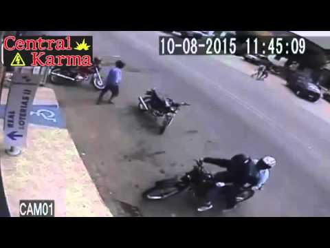 ►Thief Killed By Police During Robbery ● Instant Karma ● August 2015◄