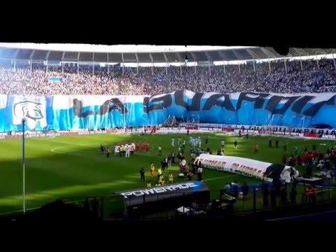 Recibimiento Racing 1 - Independiente 2 Pre liguilla Libertadores METEGOL 2 - La Guardia Imperial - Racing Club