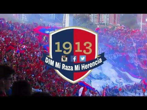 Salida 2do tiempo Clásico Paisa Deportivo Independiente Medellín Vs Atlético Nacional - Rexixtenxia Norte - Independiente Medellín