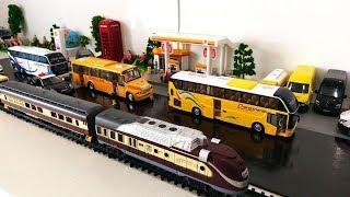 Toy Trains Car Cartoon for Kids | Train Cartoon | Cars and Buses for Children Cars Cartoon Toys