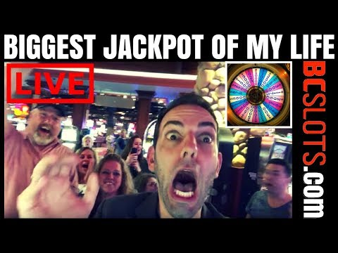 BIGGEST JACKPOT OF MY LIFE!! 🔥😳🔥 Filmed LIVE with Brian Christopher at Seneca Niagara