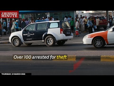 Over 100 arrested for theft