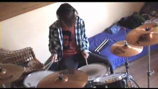 Kasabian - Fire (drum cover)