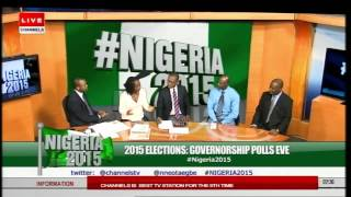 Eyes On Governorship Polls Across Nigeria -- Prt 2
