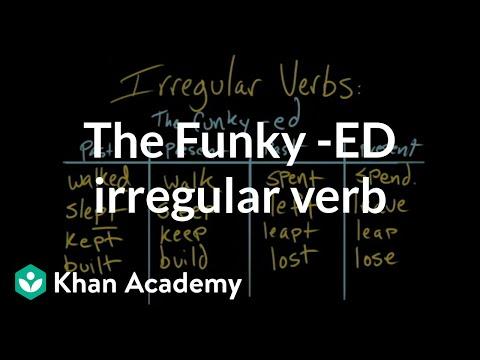 The funky ed irregular verb video khan academy m4hsunfo