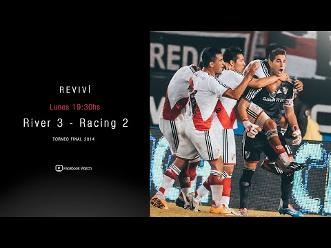 RIVER VS. RACING - Torneo Final 2014 [Partido completo]