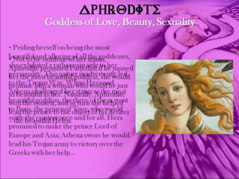 Aphrodite - The Greek Goddess of Love, Beauty, Sexuality