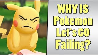 Pokemon Let's GO Pikachu Hype is Failing Badly?
