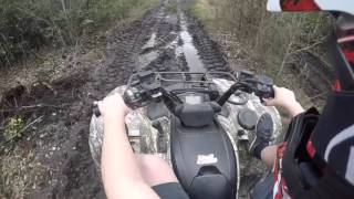 5. 2009 Yamaha Grizzly 700 review and ride!!