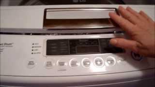 LG Smart Drum Washer w/ Inverter Direct Drive Demonstration