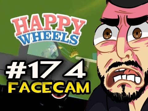 Happy Wheels w/Nova Ep.174 FACECAM - GREATEST PIZZA DELIVERY OF ALL TIME Video