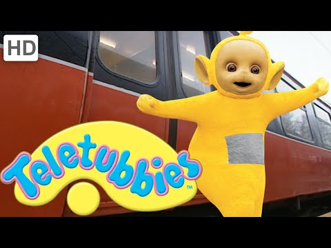 Teletubbies: Going on the Train - HD Video