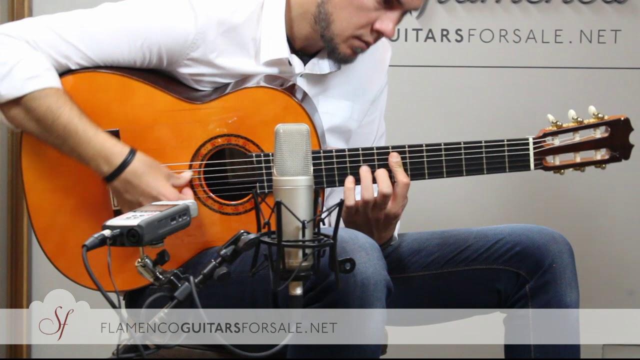 VIDEO TEST: Conde Hermanos AF25 2004 flamenco guitar for sale