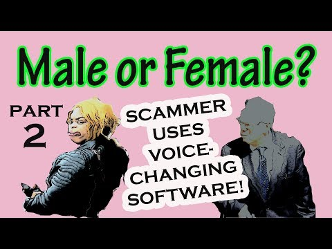Part 2 – MALE SCAMMER PRETENDS to be FEMALE! (видео)
