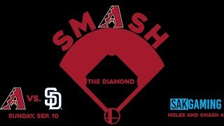 SMASH THE DIAMOND – A Melee and Smash 4 tournament at MLB Ballpark, Chase Field – September 10