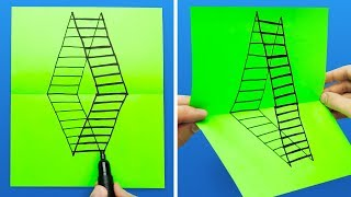 Video 17 DRAWING TRICKS THAT WILL AMAZE YOUR FRIENDS MP3, 3GP, MP4, WEBM, AVI, FLV Agustus 2018
