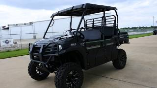 8. $16,299 as Equipped:  2017 Kawasaki Mule Pro FXT EPS LE Black with Lift, bumpers, and Wheels & Tires