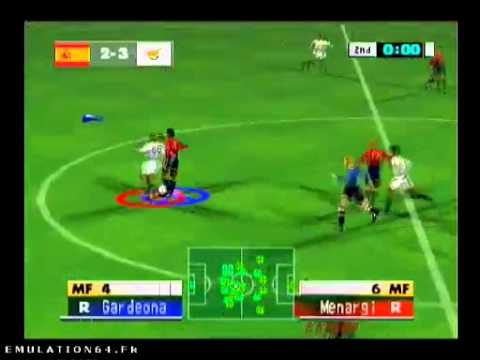 International Superstar Soccer 64 Nintendo 64