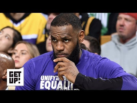 Video: Are the Lakers, LeBron better off missing the playoffs? | Get Up!