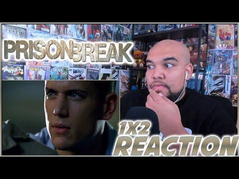 "Prison Break Reaction Season 1 Episode 2 ""Allen"" 1x2 REACTION!!!"