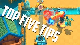 Video Clash Royale - Top 5 BEST Tips for Winning! MP3, 3GP, MP4, WEBM, AVI, FLV Juni 2017