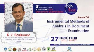 Instrumental Methods of Analysis in Document Examination