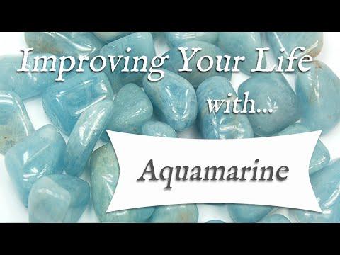 AQUAMARINE 💎 TOP 4 Crystal Healing Benefits of Aquamarine! | Stone of Courage & Letting Go