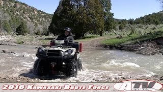 8. ATV Television Test - 2016 Kawasaki Brute Force 750 EPS Long Term Wrap