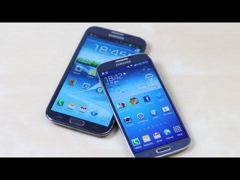 Samsung Galaxy S4 vs. Galaxy Note 2 | SwagTab
