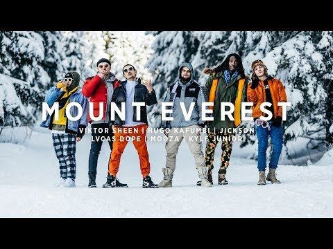 Viktor Sheen x Lvcas Dope x Jickson x Mooza x Hugo Kafumbi - MOUNT EVEREST [Official 40K Video]