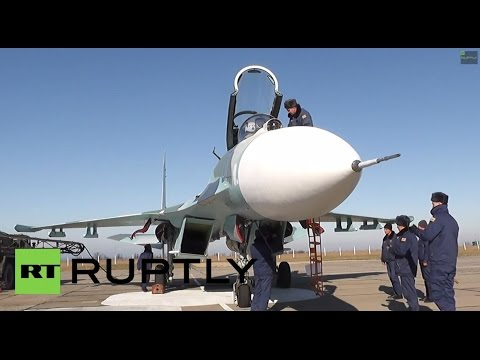 Video ID: 20141203-049  W/S Sukhoi...
