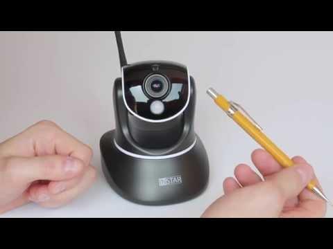 Die Instar IN 6014 HD WLAN-Kamera im Test - Die Kamera