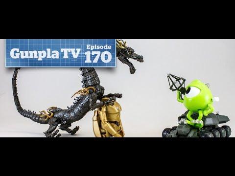 Gunpla TV – 170 – New kits! Star Wars Eggs! Godzilla Tanks! - Hlj.com