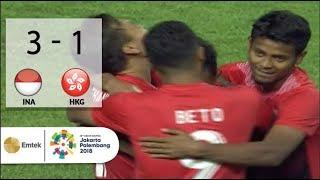 Video Full Highlights Sepak Bola Indonesia (3) VS (1) Hongkong | Asian Games 2018 - 20/08/2018 MP3, 3GP, MP4, WEBM, AVI, FLV April 2019