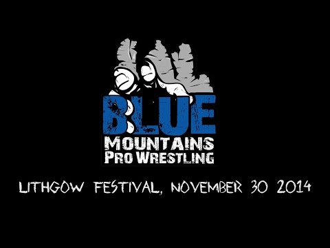 Blue Mountains Pro Wrestling - Lithgow Festival Highlights