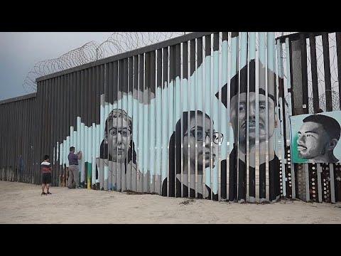 Σύνορα Μεξικού-ΗΠΑ: Μια πολύχρωμη τοιχογραφία ελπίδας