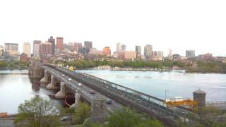 Sunset Time-Lapse Over Longfellow Bridge - May 14, 2014