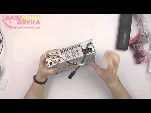 Автомагнитола Alpine CDE-193BT с поддержкой iPod/iPhone