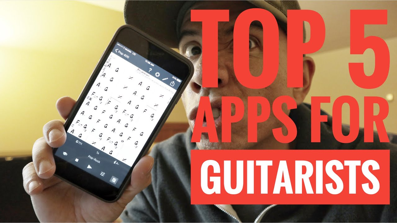 Top 5 apps for GUITARISTS 2017 – Guitar Vlog – How To – Tutorial